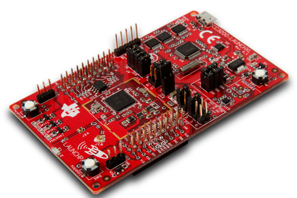 Overview of TI SimpleLink Wi-Fi CC3200 LaunchPad.